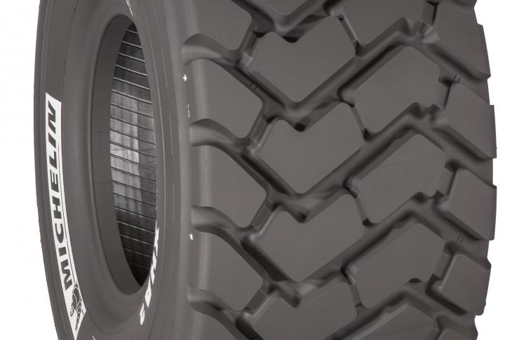 Michelin has introduced two sizes of the XHA 2, a loader tire for small- and medium-sized wheel loaders used for material handling in quarries and mines, sand, gravel, logging, and waste management.