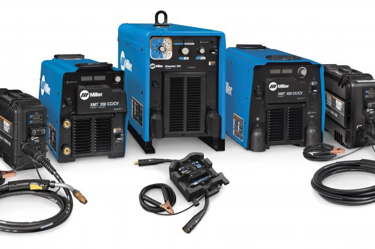 Miller Electric ArcReach multiprocess welding systems allow welding operators to change process parameters remotely