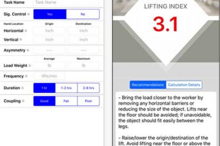 The Lifting Index (LI) is an index of the relative physical stress associated with a single, particular manual lifting task.