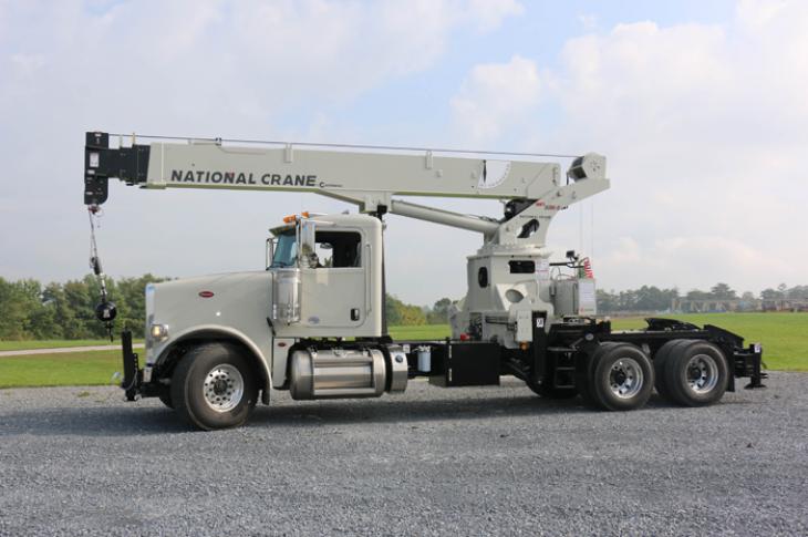 National Crane NBT30H-2 TM crane has a 69-foot boom