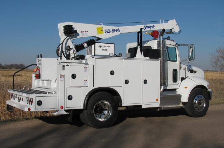 Heavy Duty Mechanics Trucks With 6,000- to 10,000-pound Crane Ratings