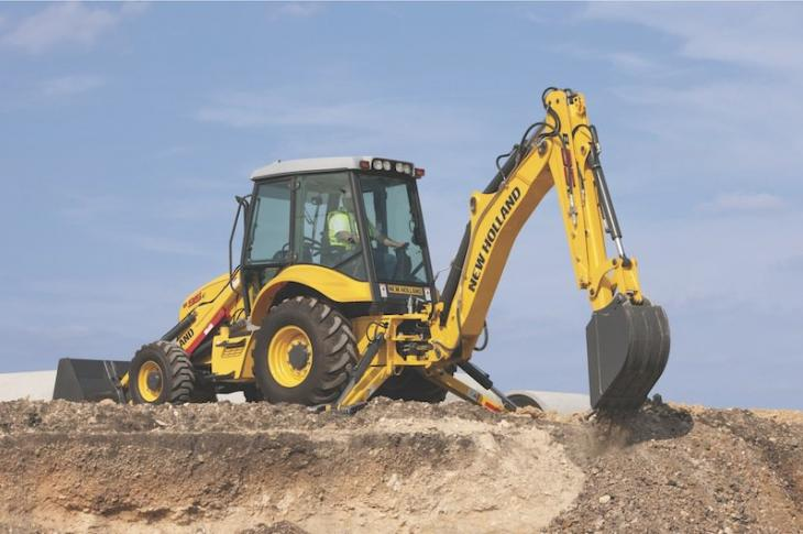 New Holland C Series Backhoe Loaders Upgraded to T4-F