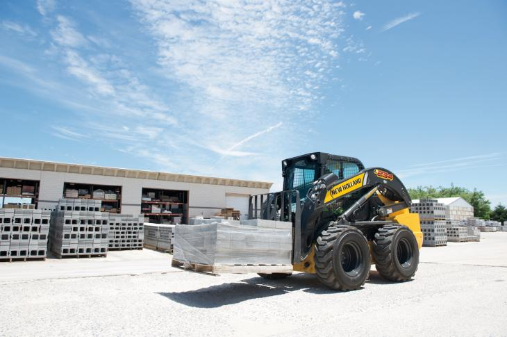 New Holland 200 Series Skid Steer, Compact Track Loaders