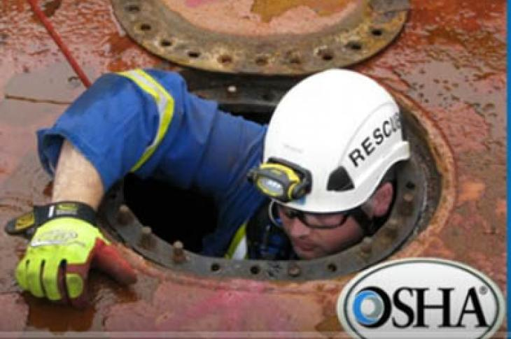 OSHA rules regulate confined spaces
