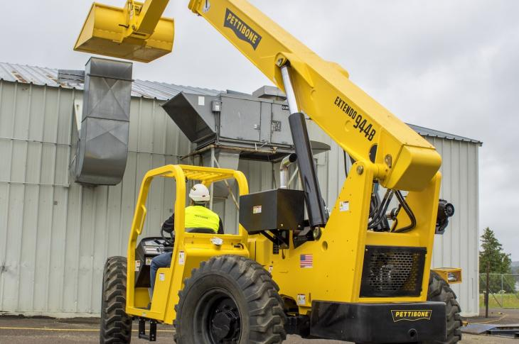 Pettibone 944B Telehandler now available with 74 HP engine