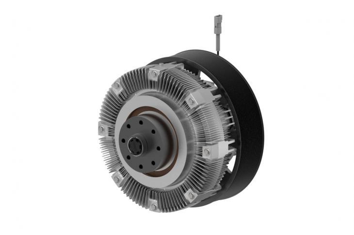 Horton HTEC 1800 Fan, RCV1000 Fan Drive for Off-Highway Engine Cooling
