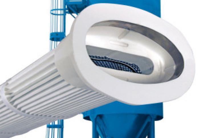 Donaldson Snap-in Pleated Bag Filter for Torit RF Baghouse Dust Collector