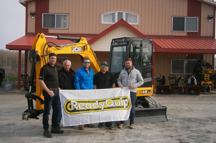 JCB has expanded its distribution in Canada through ReadyQuip JCB
