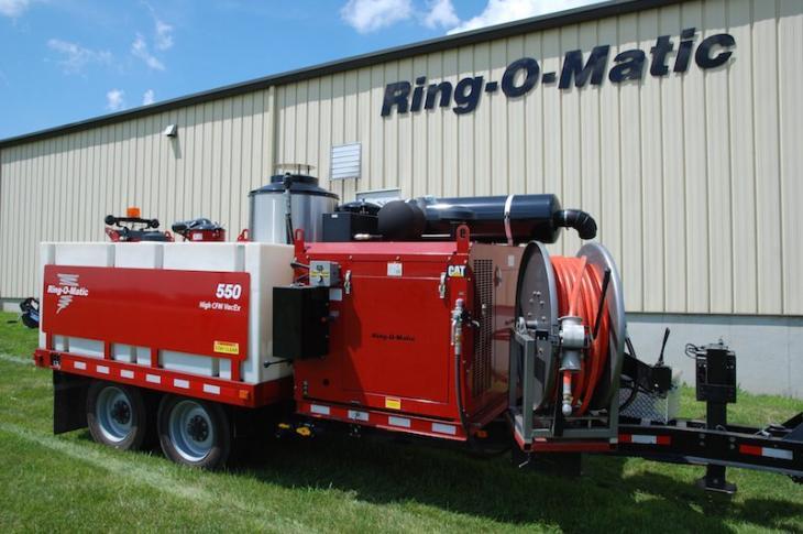 Ring-O-Matic 550 Vacuum Excavator Combination