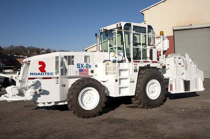 Roadtec SX-2e Stabilizer Reclaimer