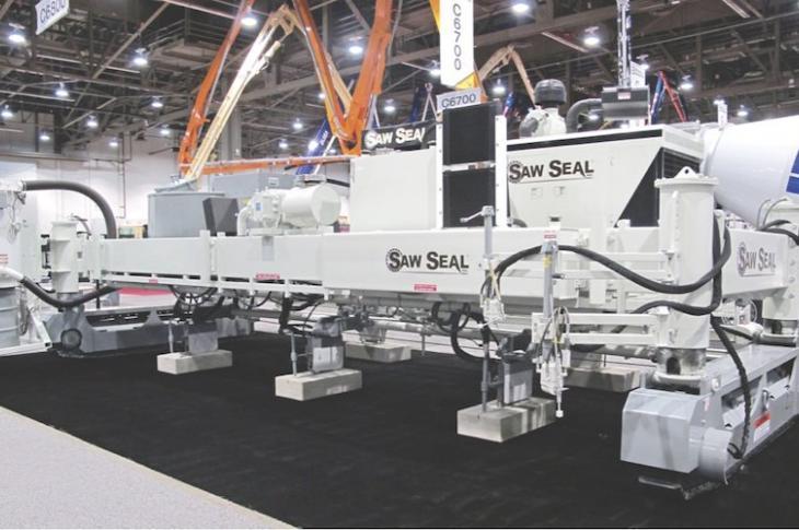 Saw Seal Machine