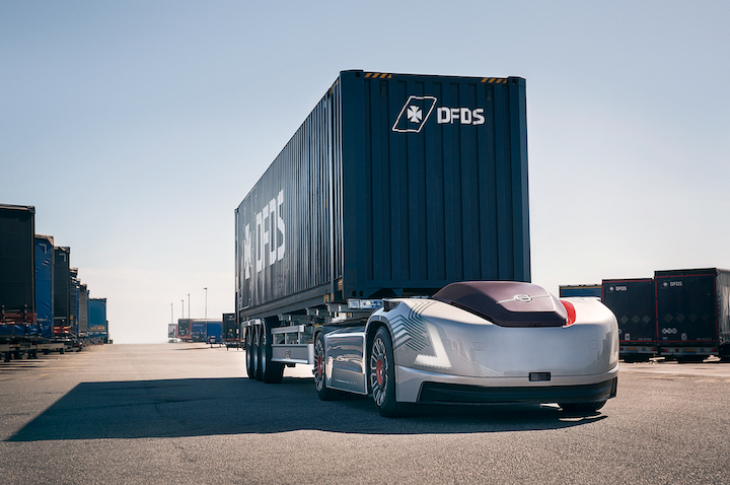 Volvo's electric, autonomous vehicle, Vera, will form part of an integrated solution to transport goods.