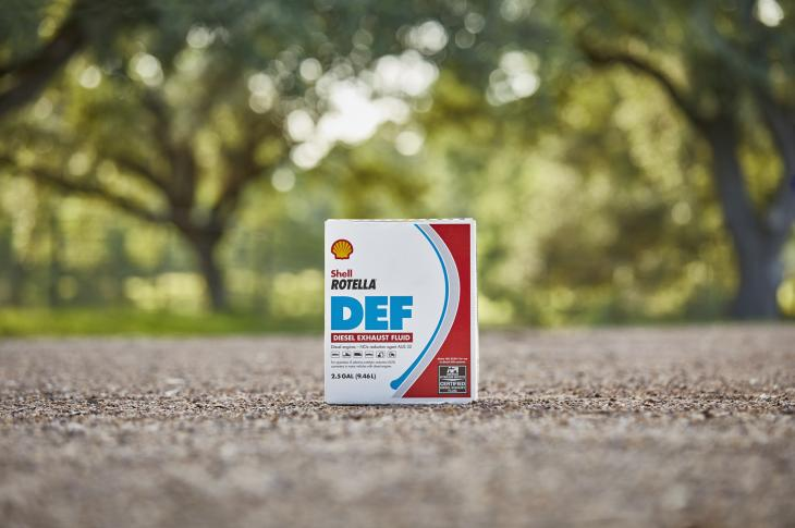 Shell Rotella diesel exhaust fluid (DEF) is for the selective catalytic reduction systems used in most 2010 and later on-road diesel-powered trucks and Tier 4-F construction equipment.