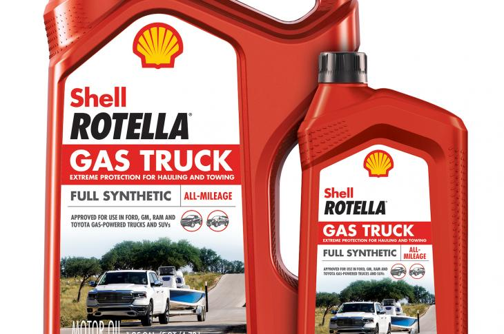 Rotella Gas Truck full synthetic engine oil is engineered to provide protection for towing and hauling for gasoline-powered pickup trucks and SUVs.