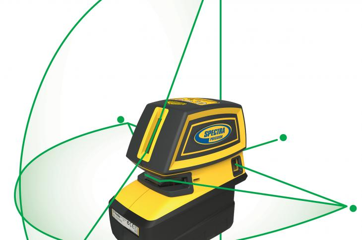 The Spectra Precision LT52G and LT58G automatic self-leveling lasers with high-visibility green laser beams are designed for use in a wide variety of interior construction applications.