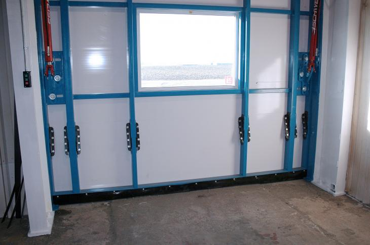 Schweiss Splice Connection System for Hydraulic Doors