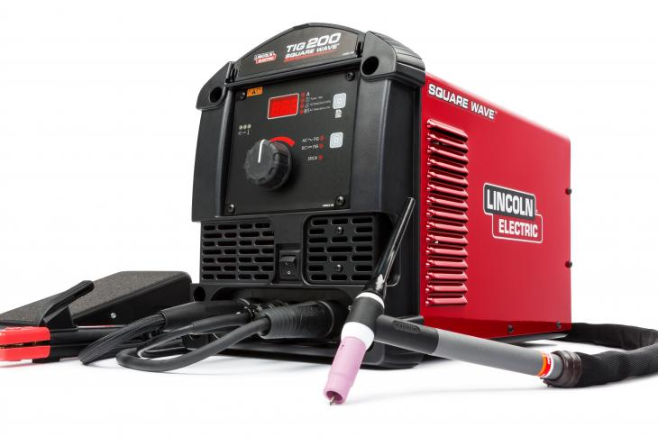 Lincoln Electric Square Wave TIG 200 Welding Machine Offers Multiprocess Capabilities