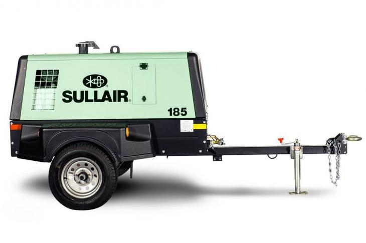 Sullair 185 T4F, 375 T4F Air Compressors with Updated Air Ends