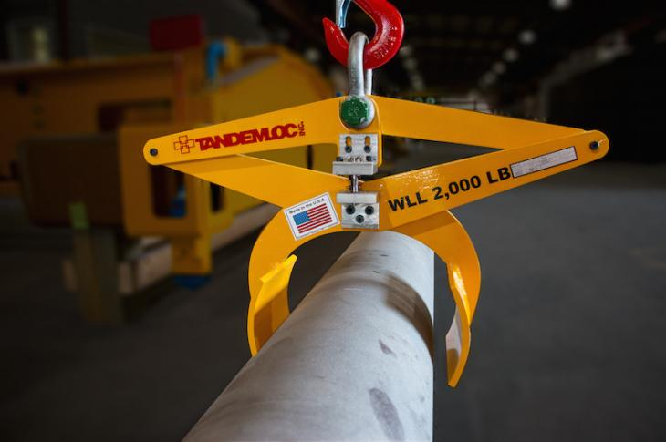Tandemloc AR12 Diametrical Tongs With Capacities Up to 3,000 Pounds