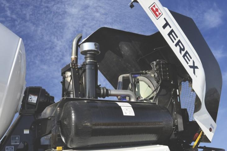 Terex Advance Adds CNG Engine