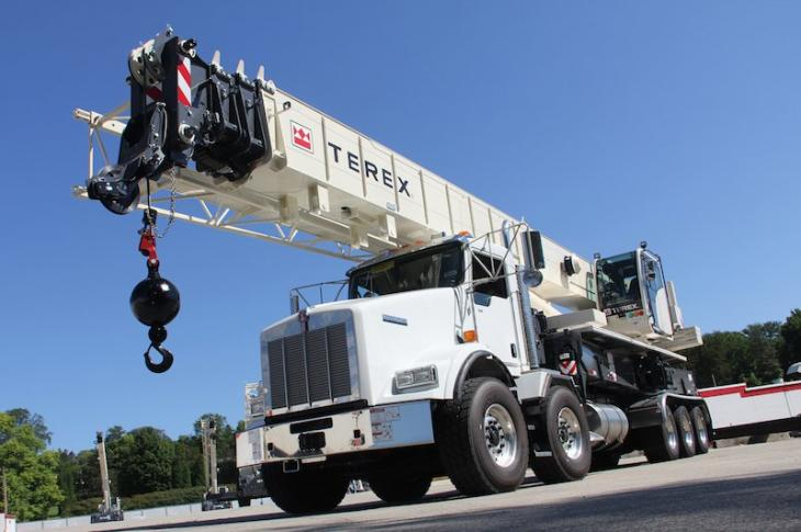 Terex Crossover 8000 Crane