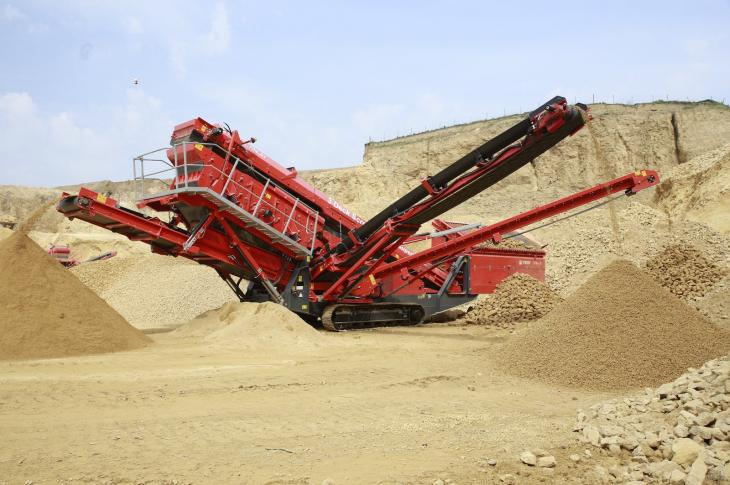 Terex Finlay 674 Screener