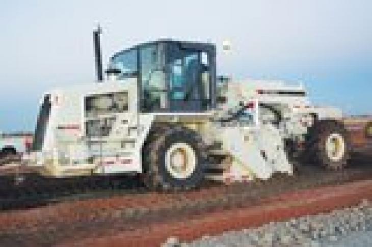 Terex Roadbuilding RS445C Reclaimer Stabilizer