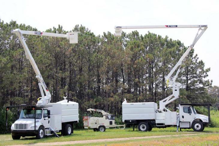 Terex XT Pro Tree Trimmer Trucks