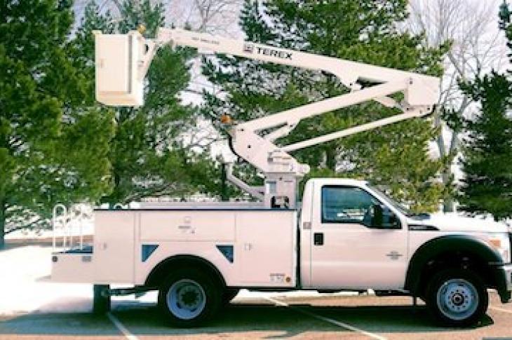Terex Utilities Hi-Ranger Aerial Device