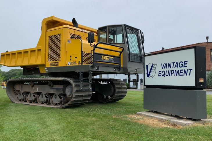 Vantage Equipment is now a Terramac distributor.