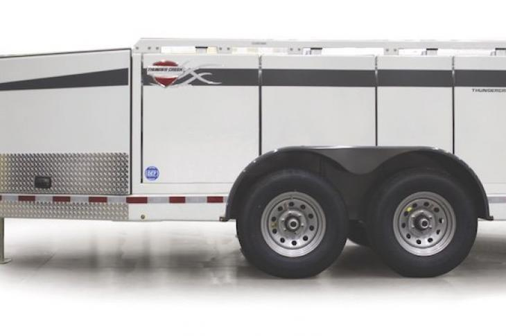 Thunder Creek Multi-Tank Trailers Transport Diesel