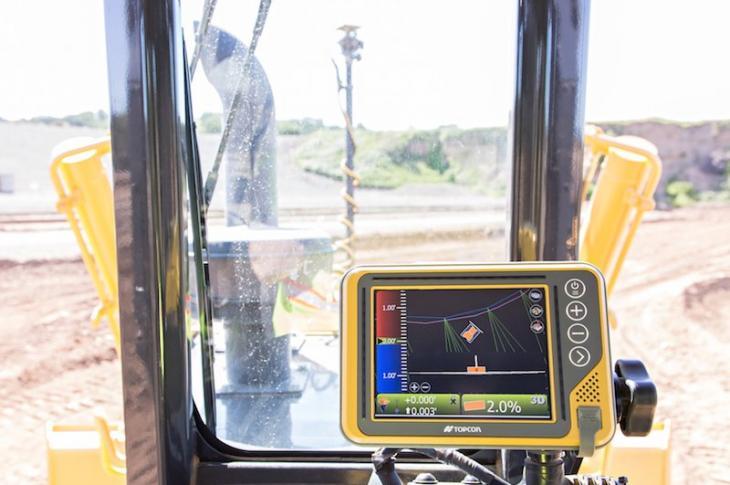 Topcon i-53 Machine Control for Dozers