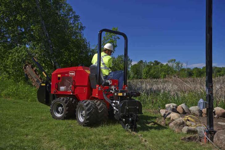 Toro Pro Sneak 365 Vibratory Plow