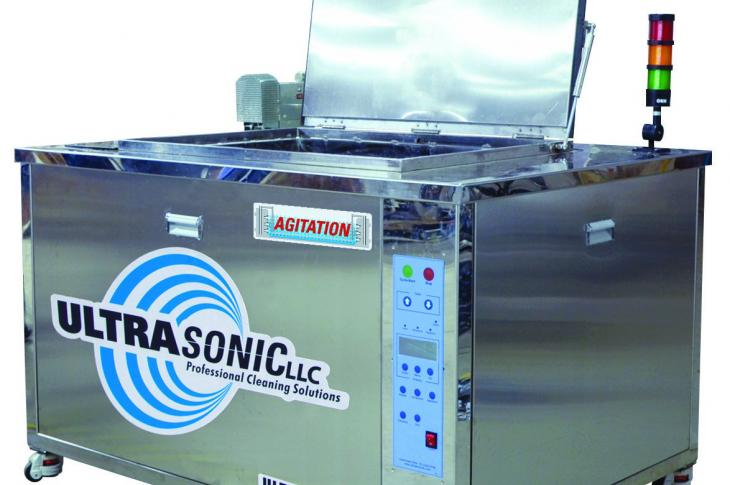 Ultrasonic 3200FA Cleaner Features 55-Gallon Main Tank Capacity
