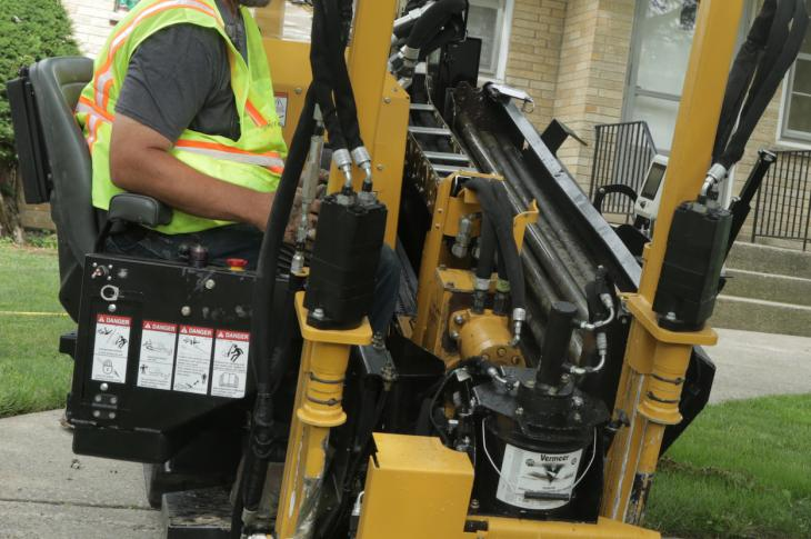 Vermeer has expanded its HDD line with the new compact D8x12 horizontal directional drill