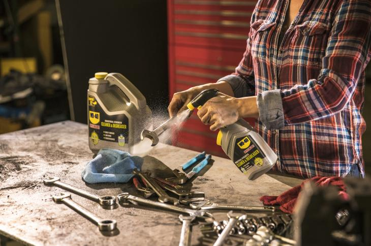 WD-40 Company is adding non-aerosol Industrial-Strength Cleaner & Degreaser products to its WD-40 Specialist line to degrease work sites, tools, equipment, and machinery in highly regulated environments.