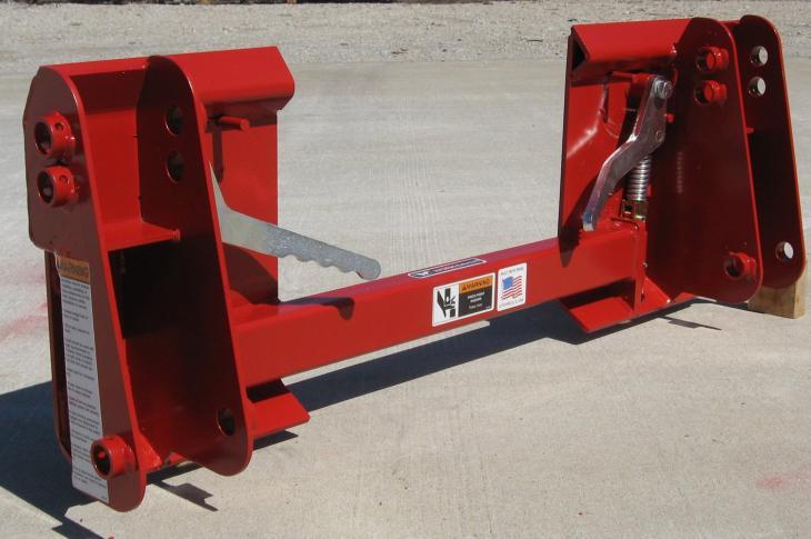 Worksaver Skid Steer Adapter for Case IH Loaders