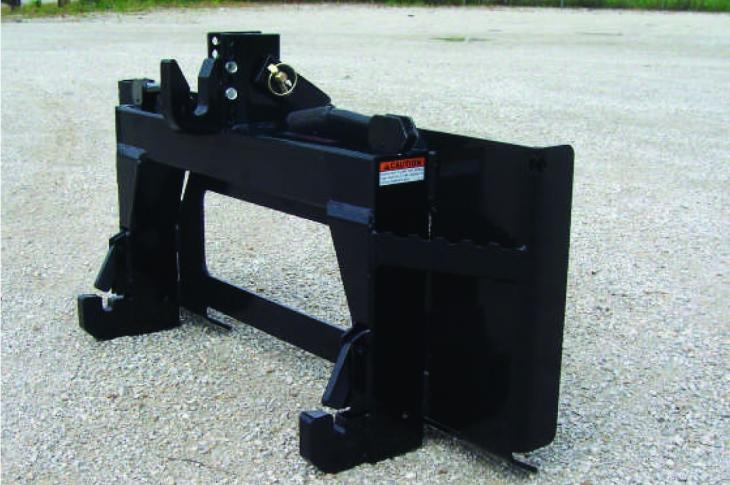 Worksaver Skid Steer to Category 1 Quick Hitch Adapter