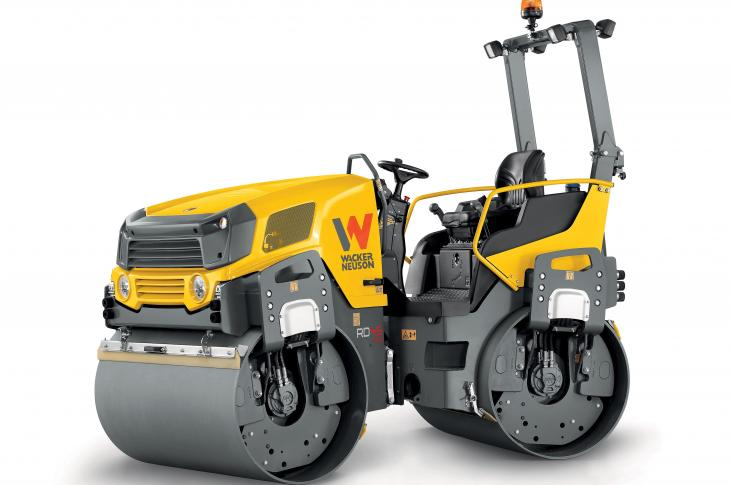 Wacker Neuson RD Series of rollers includes 15 models