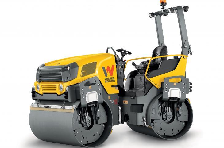 Wacker Neuson RD Series of rollers includes 15 models