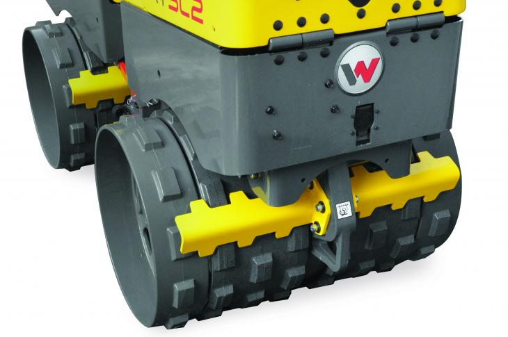 Wacker Neuson RTx-SC2 Trench Roller with Extendable Drums