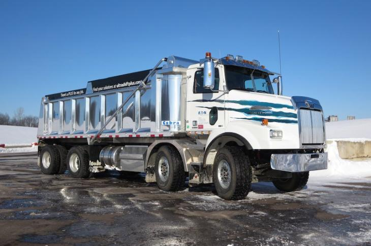 Western Star Twin-Steer is Stable and Strong