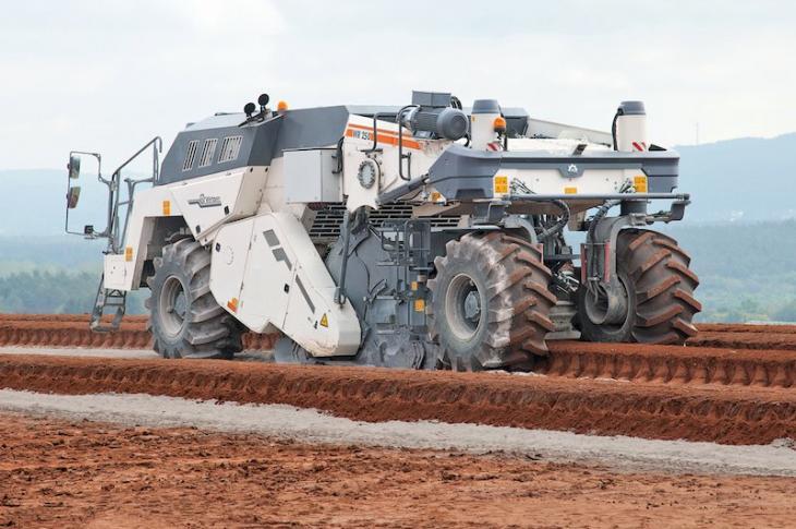 Wirtgen WR 250 Stabilizer