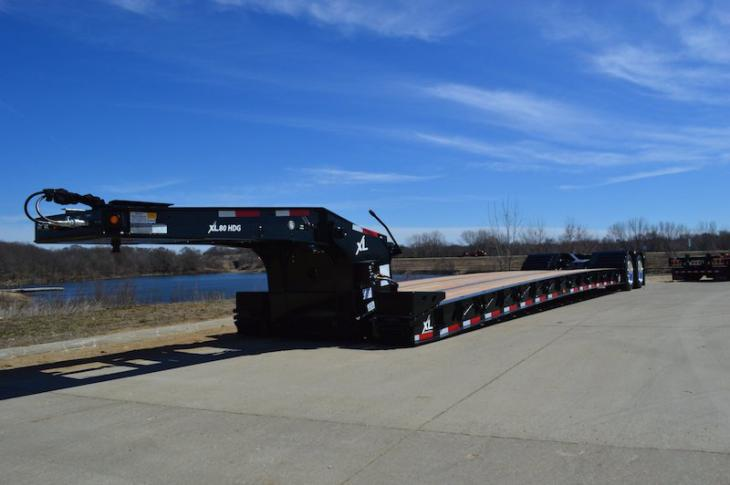 XL 80 Gooseneck Trailer Available in Three Configurations