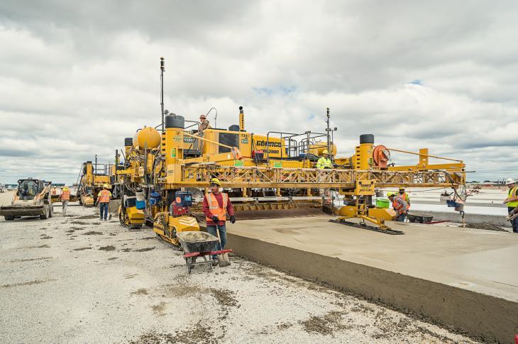 Topcon ZPS Concrete Paving System