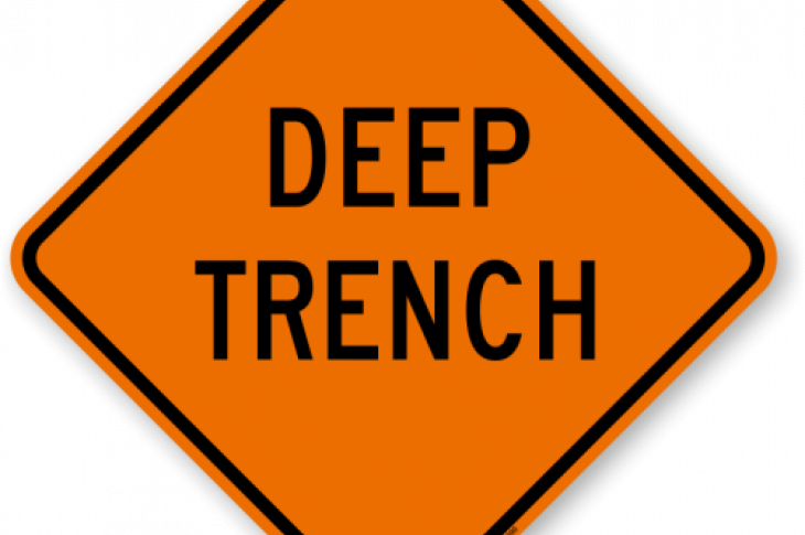 Employees can be seriously or fatally injured when a trench collapses