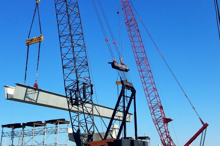 Stephens is in charge of a diverse crane fleet at Superior