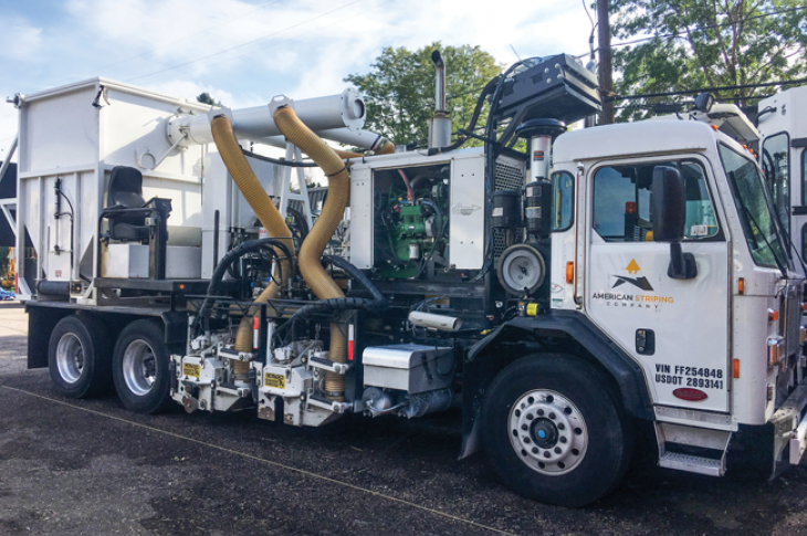 Striping trucks can cost more than $250,000