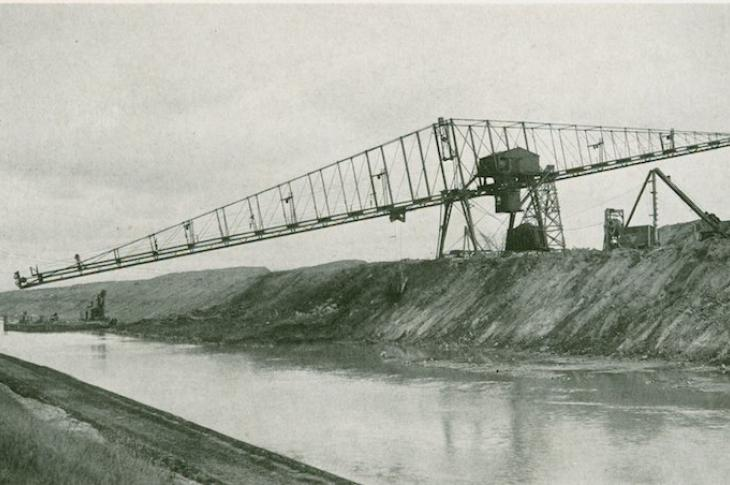 Alexander Brown and the Cantilever Crane