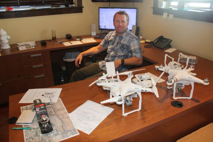 Cody Larkin has been instrumental in developing drone imaging technology for Salt Lake Excavating